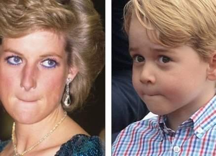 صديقة الأميرة ديانا تساعد الأمير جورج في التعرف على طريقة تعامل جدته معه
