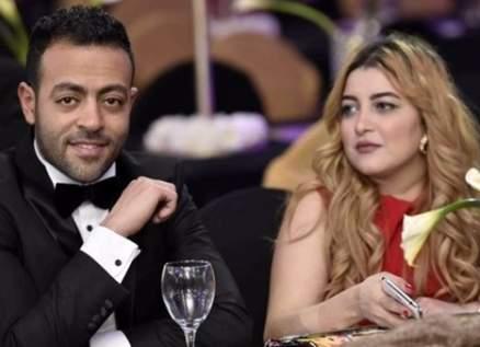 زوجة تامر عاشور تدعم مي حلمي وتهاجم محمد رشاد-بالصورة