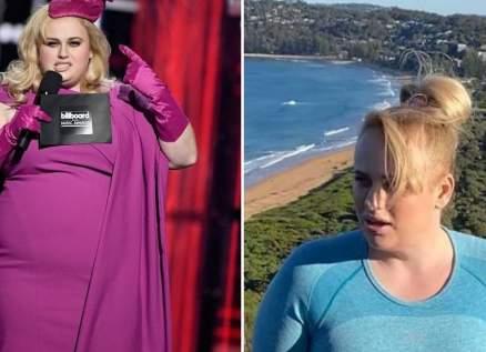 ريبيل ويلسون تظهر خسارتها 18 كلغ من وزنها في صور جديدة لها
