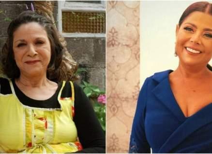 """صباح الجزائري تنشر صورة مع شقيقتها سامية الجزائري:""""يا ست الستات""""-بالصورة"""