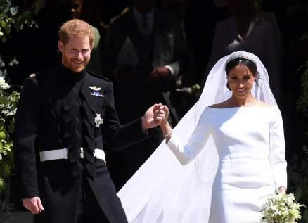 ميغان ماركل تكشف مفاجأة عن زفافها