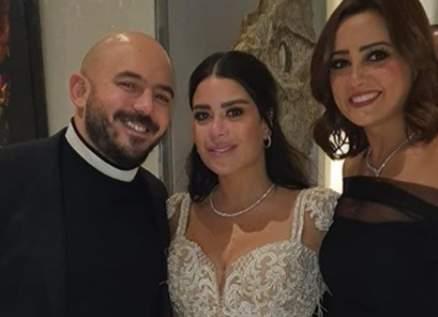 بشرى إشترطت على محمود العسيلي لحضور حفل زفافه-بالصور