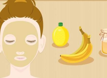 هكذا تحضرون خلطة قشر الموز للبشرة الحساسة