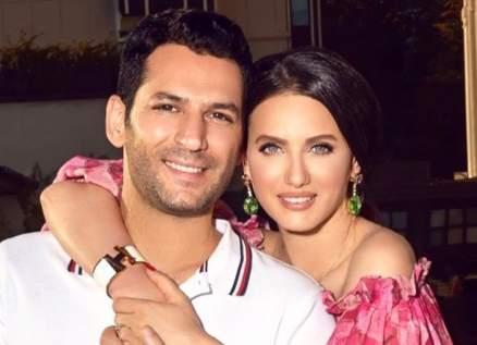 إيمان الباني تهنئ زوجها مراد يلدريم بعيده