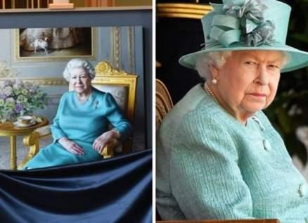 في زمن الكورونا..هكذا تلقت الملكة إليزابيث صورة مرسومة لها