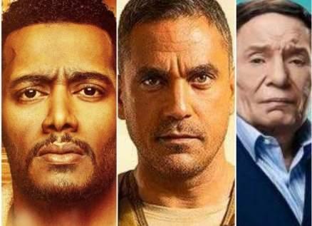 فلاش باك- الإختيار نجم مسلسلات عام 2020.. نجاح ساحق لـ البرنس وعادل إمام الصدمة