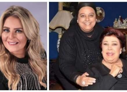 إبنة رجاء الجداوي ورانيا محمود ياسين توضحان حقيقة خلافهما