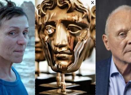 أنتوني هوبكنز وفرانسيس مكدورماند أبرز الفائزين بجوائز بافتا لهذا العام