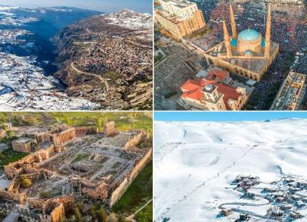 رغم الظروف الصعبة..صحيفة عالمية تتغنى بجمال لبنان وتنشر صور رائعة لسحره