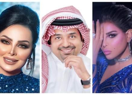 أحلام وراشد الماجد وديانا كرزون ينعون خليفة بن سلمان