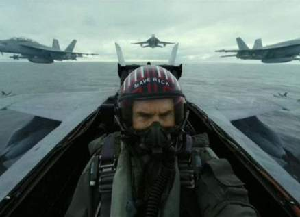 توم كروز بإعلان مهم عن مصير عرض فيلم Top Gun: Maverick-بالصورة