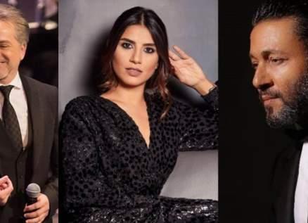 بالصور والفيديو- مروان خوري وزياد برجي وفرح نخول يحتفلون بعيد الحب