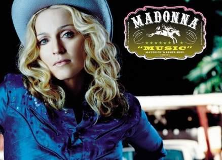 مادونا تحتفل بتصدر ألبومها Music قائمة بيلبورد-بالفيديو