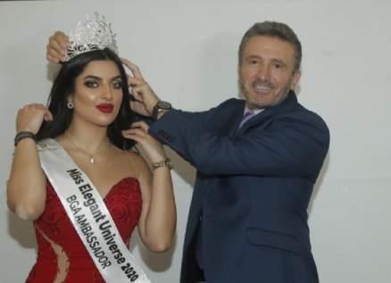 "سعد حمدان يتوّج ملاك عبيدات ""Miss Elegant Universe"".. بالصور"