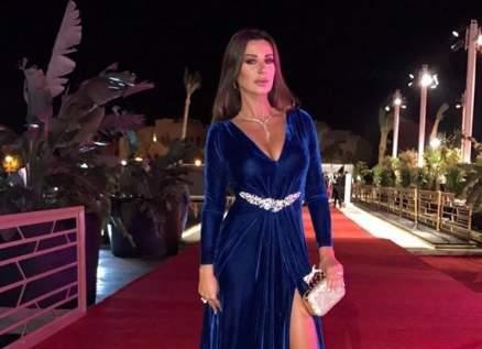 خاص بالصور-كاتيا كعدي تتألق برفقة زوجها في مهرجان الجونة