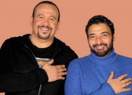 """هشام عباس وحميد الشاعري """"مفاجأة 2020""""-بالصورة"""