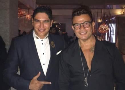 عمرو دياب وأحمد أبو هشيمة يجتمعان للمرة الأولى بعد فترة انقطاع-بالصورة