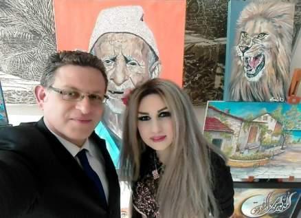 محمد العاصي يستذكر الفنانة التشكيلية نينا رشيد بعد مرور عام على وفاتها