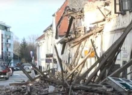 لحظات مرعبة موثقة من زلزال كرواتيا المدمر عاشها هؤلاء-بالفيديو