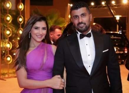 مي عمر تقدم رسالة دعم لزوجها محمد سامي