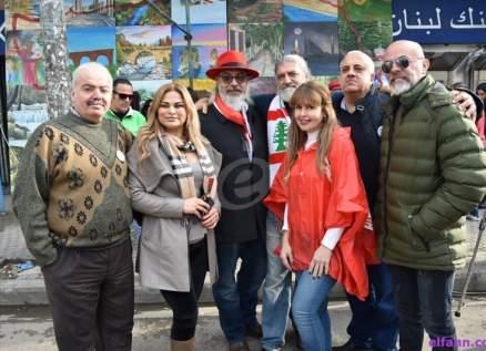 """خاص بالصور-""""يوم الإبداع اللبناني"""" في طرابلس..وجيه صقر للفن """"لا أخاف من شيء"""""""