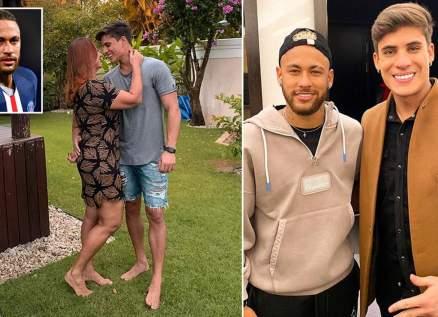 إتهام نيمار بإهانة المثليين بسبب خلاف والدته مع حبيبها الذي يصغرها بـ 34 عاماً