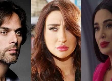 سيرين عبد النور وجيسي عبدو ومازن معضم وغيرهم يطالبون باستكمال التصوير-بالصور