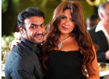 ياسمين عبد العزيز وأحمد العوضي معاً في رمضان 2021