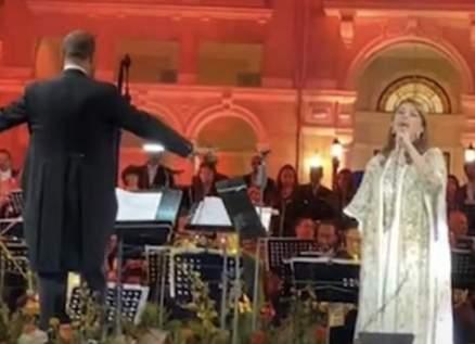 ماجدة الرومي تغني أغنية ممنوعة في حفلها في مصر.. وهذا ما أبكاها