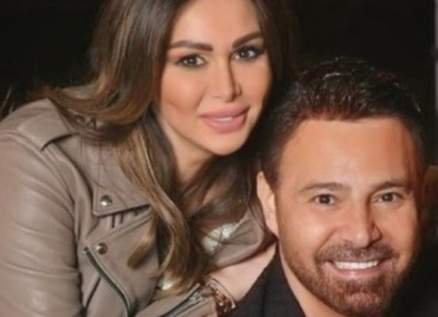 عاصي وكوليت الحلاني عيونهما تشعّ فخراً ومحبةً لأولادهما