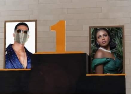 بالفيديو- شاهد المنافس الأقوى لـ داليا مبارك ومحمد رمضان في Top10
