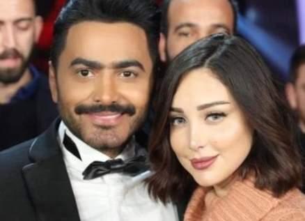 أحدث ظهور لـ تامر حسني وبسمة بوسيل يصدم الجمهور..ملامحهما تغيرت كثيرا!- بالصور