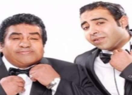 بالصور- أحمد عدوية وإبنه محمد في حفل عيد الأضحى