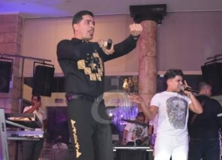 خاص بالفيديو- تدافع في حفل حسن شاكوش وعمر كمال في لبنان
