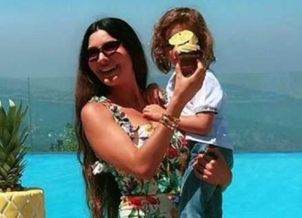 لاميتا فرنجية برفقة إبنها جاستن بأحدث ظهور – بالصورة
