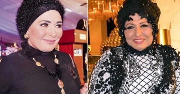 سهير رمزي تقبّل صابرين في فمها.. بالفيديو