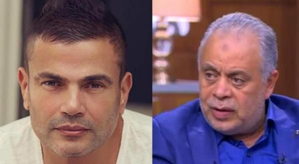 عمرو دياب يرفض الجلوس في مقهى مع أشرف زكي.. بالفيديو