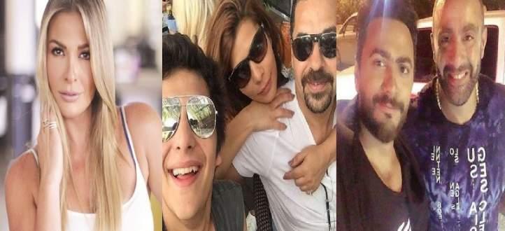 """موجز """"الفن"""": هكذا إعتذر أحمد السقا من تامر حسني.. إبن أصالة يهاجم طارق العريان وباميلا الكيك تنجو من الموت"""