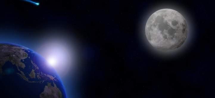 هذا موعد سقوط القمر على الأرض!-بالفيديو