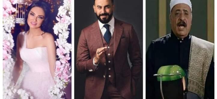 موجز الفن: وفاة فايق عزب.. ممثل تركي شهير بصورة شبه عارية وهكذا وصفت صفاء سلطان إبن قصي خولي