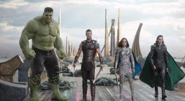 للأسبوع الثاني Thor :Ragnarock يتصدر إيرادات الأفلام