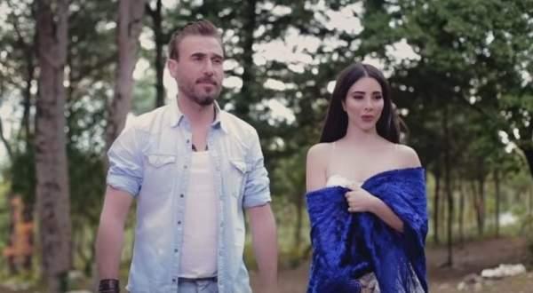 شاهدوا فيديو كليب الديو الذي جمع باسم مغنية بزوجته شيرين منسى