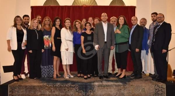 خاص بالفيديو- هذا ما فعله جمال أبو الحسن ورونزا وباسكال صقر وكاتيا خوري مندلق في بيت الفنان في حمانا