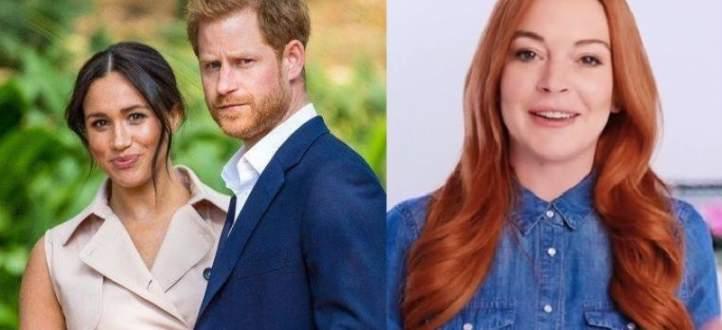 ليندسي لوهان :الأمير هاري وميغان ماركل يعرضان خصوصيتهما للخطر-بالفيديو