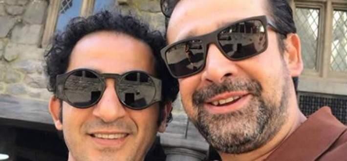 كريم عبد العزيز يكسر قدم أحمد حلمي-بالفيديو
