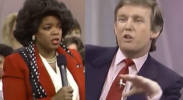 بعد إعلانها الترشح.. أوبرا وينفري تظهر بمقابلة نادرة مع ترامب قبل 28 عاماً