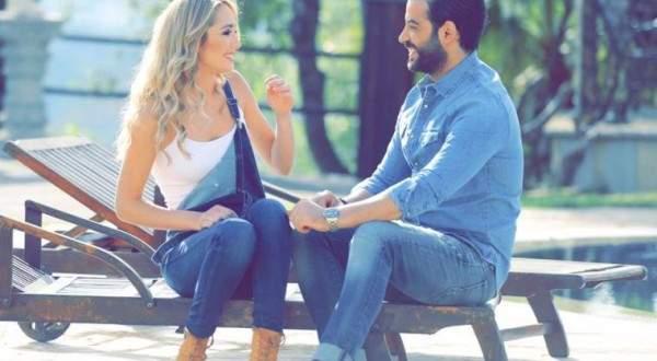 """بالفيديو ..راني برو لحبيبته :""""بدي حب"""" وضل معك وين ما كنتي"""