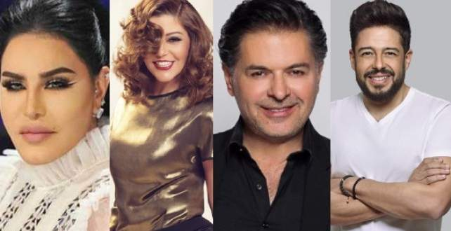 """موجز """"الفن"""": محمد حماقي وسميرة سعيد مع أحلام من دون راغب علامة.. وممثلة عربية تظهر عارية"""