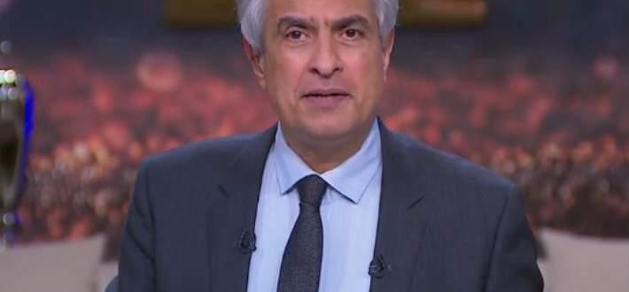 """وائل الإبراشي بعد إصابته بفيروس كورونا :""""سأنتصر عليه""""-بالفيديو"""
