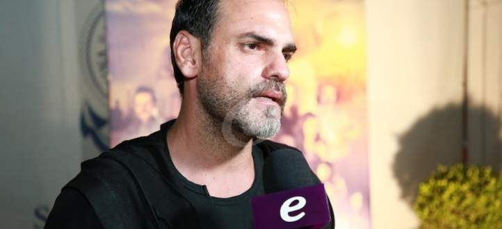خاص بالفيديو- باسم رزق: ورشة عمل في منزلي بسبب ورد الخال